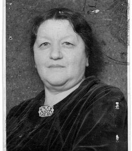 Julie Kvaček, ca 1930